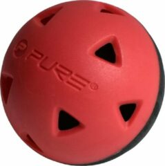 Rode P2I Pure2improve Golf Impact Training Balls - Black/Red - 5 inch - Set of 6