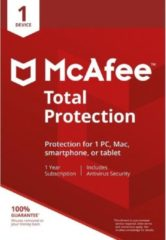 McAfee Total Protection 1 apparaat (levering binnen de 24 uur via elektronische download)