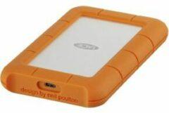 LaCie STFR1000800 Rugged Externe harde schijf (2.5 inch) 1 TB Zilver, Oranje USB-C