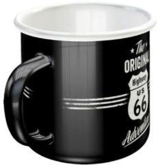 Nostalgic Art Merchandising Nostalgic Art Emaille koffietas Highway 66