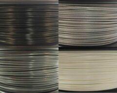 Zilveren Bits2Atoms PLA Business Value Pack 1,75mm 750gram