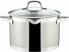 Zilveren Tescoma President Hoge Kookpot met Deksel - Ø 24cm - 7L