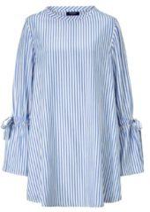 CONLEYS BLUE Kleid, im Streifenlook, Modisch, Viskose