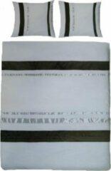 Zilveren Essenza Colorado Dekbedovertrek - Eenpersoons - 140x200/220 cm - Silver