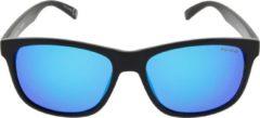 ICON Sport Zonnebril FAZER - Zwart montuur - Blauw spiegelende glazen - GEPOLARISEERD