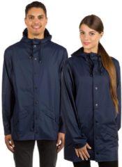 RAINS Jacket - Blue - S-M - Navy