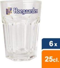 Hoegaarden - Bierglas Witbier 25cl - 6 stuks