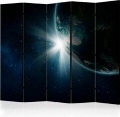 Beige Kamerscherm - Scheidingswand - Vouwscherm - Earth II [Room Dividers] 225x172 - Artgeist Vouwscherm