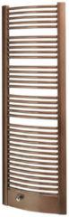 Handdoekradiator Sapho Egeus Gebogen 59.5x174.2 cm 1031W Brons