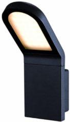 Antraciet-grijze Franssen verlichting Wandlamp lichtunit LED schuin - antraciet