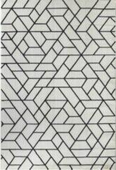Impression Carpets Passion Exclusief Vloerkleed Wit / Zwart Laagpolig - 80x150 CM