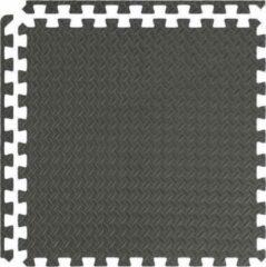 Antraciet-grijze Kaytan Fitness Mattenset – 6 Stuks – 120x80x1,2cm