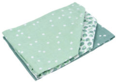 Briljant Baby Briljant Spots Stone groen 3 Stuks Hydrofiel Luiers 60R