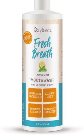 Afbeelding van Oxyfresh Power Rinse Lemon-Mint Mondwater - 473 ml