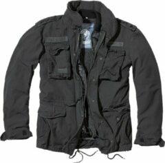Zwarte Brandit Jas - Jack - M65 - Giant - zware kwaliteit - Outdoor - Urban - Streetwear - Tactical - Jacket Jack - Jacket - Outdoor - Survival Heren Jack Maat S