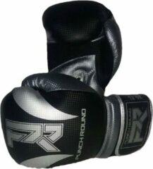 Punch Round™ Punch Round Bokshandschoenen SLAM Mat Carbon Zwart Zilver 16 oz