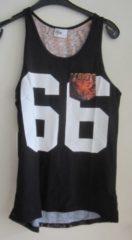 Oranje Nena & Pasadena tijger tanktop M