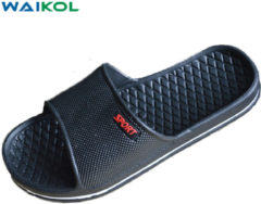 Bambino Waikol Mens Shoes Bathroom Skidproof Flat Sandals Men Summer Home Slippers Casual Indoor Shoes Beach Sandals For Boys