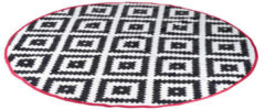 Witte Bo-Camp Urban Outdoor Bo-Camp - Urban Outdoor - Chill mat - Rond - Ø 200 cm