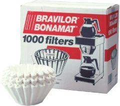Bruine Koffiefilters bravilor filters Koffiefilters - basketfilters - bravilor filters - korffilters - 1000 stuks
