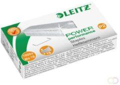 Roestvrijstalen Leitz Power Performance P2 nietjes nr. 10 staal doos van 1000 stuks