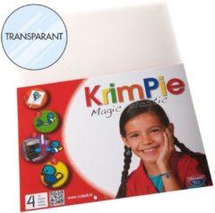 Collall Krimpie - Magic Plastic - Transparant - Maak je eigen Sieraden