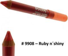 Paarse Biguine Make Up Paris Trendy Gloss - Lip Gloss lippenstift kleur - 2,32g - 9908 Ruby n´shiny