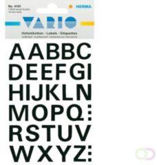 Etiket Herma 4163 15mm letters A-Z zwart