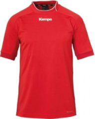 Kempa Prime Shirt Kind Rood-Chili Rood Maat 128