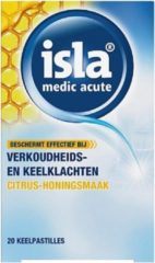Engelhard Isla- Medic Acute Citrus-Honing- 20 Keelpastilles