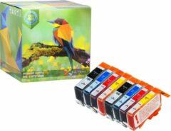 Cyane Ink Hero - 8 Pack - Inktcartridge / Alternatief voor de HP 364 364XL CN684EE CB316EE CB324EE SD534EE CB325EE Photosmart 5510 5512 5514 5515 5520 5522 5524 5525 6520 6510 B110A plus B210 B109A B210A Officejet 4610 4620 4622 Deskjet 3520 3070A