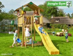 Jungle Gym | Chalet | DeLuxe | Rood