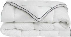 Witte Hibboux Cozzy Cotton matrasbeschermer 160x200 katoenen matrasbeschermer