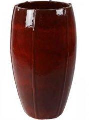 Ter Steege Moda bowl high bloempot 53x53x92 cm rood