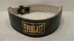 Zwarte Everlast Weightlifting Belt Fitness Riem - Maat XL