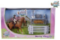Kids Globe Paarden Speelset Paard Met Ruiter En Accessoires