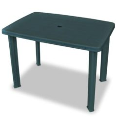 VidaXL Tuintafel 101x68x72 cm kunststof groen VDXL 43593