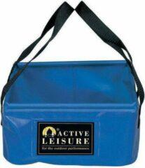 Active Leisure opvouwbare waterzak 14 liter 30 x 30 cm PVC blauw
