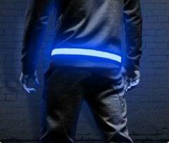Running Geeks Running Belt LED Blauw