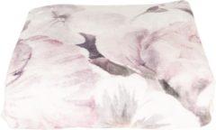 Clayre & Eef | Plaid 130*180 cm | Meerkleurig | 100% Polyester | Rechthoekig | Bloemen | KT060.094