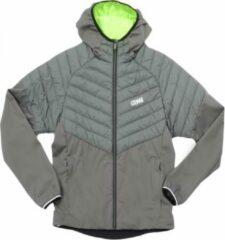 Groene Jas Colmar Men 1819 Parker Slate Neon Green-Taille 50