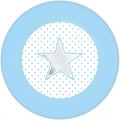 Blauwe Haza Bordjes Baby Boy Blauw (8ST)