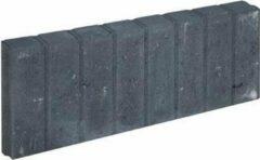 Bruine 10 stuks! Blokjesband zwart 6x20x50 cm Gardenlux
