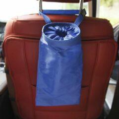 Merkloos / Sans marque Afvalzak auto paars - prullenbak - auto accessoires - ophangbaar hoofdsteun