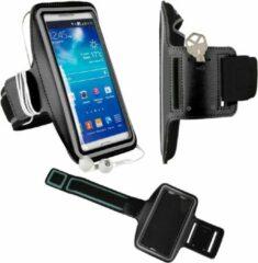 Zwarte Sportarmband Samsung Galaxy Galaxy A5 2016 hardloop sport armband