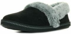 Skechers Cozy Campfire - Team Toasty Dames Pantoffels - Zwart - Maat 40