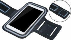Sportarmband XL tot 6.5 inch scherm oa geschikt voor iPhone 6/6s/7/8 Samsung s7/s8/s9 Huawei p10 - Zwart