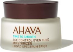 AHAVA Time to Smooth Age Control Even Tone Moisturizer Gezichtscrème 50 ml