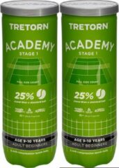 Tretorn Academy Stage 1 groen 6 pack