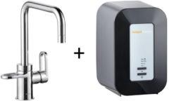 Kokendwaterkraan HotSpot Adrianna Chroom Inclusief 4 Liter Boiler